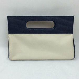 Blue & Creme Handbag